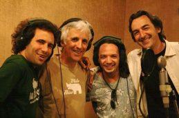 Con Kiko Veneno y Diego del Pozo